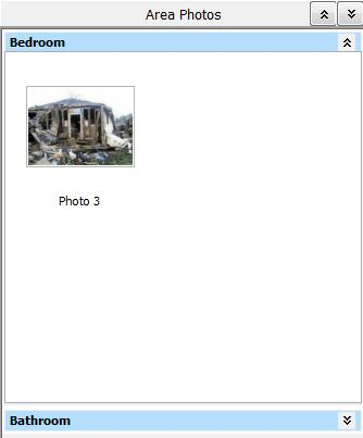 Simsol Photo Guide 7 4. View photos that have been assigned to an area in the Area Photos section. (Photo in the Area Photos section) a.