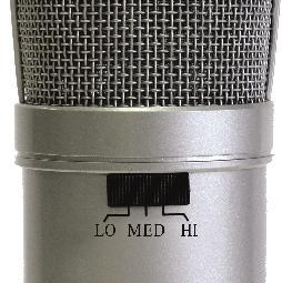 not requiring an external microphone preamp, as is the case with most condenser microphones.