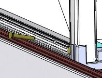 Figure 22 Figure 23 #8 x 1 1/8 Cover Strip 16) Place the aluminum bracket into the