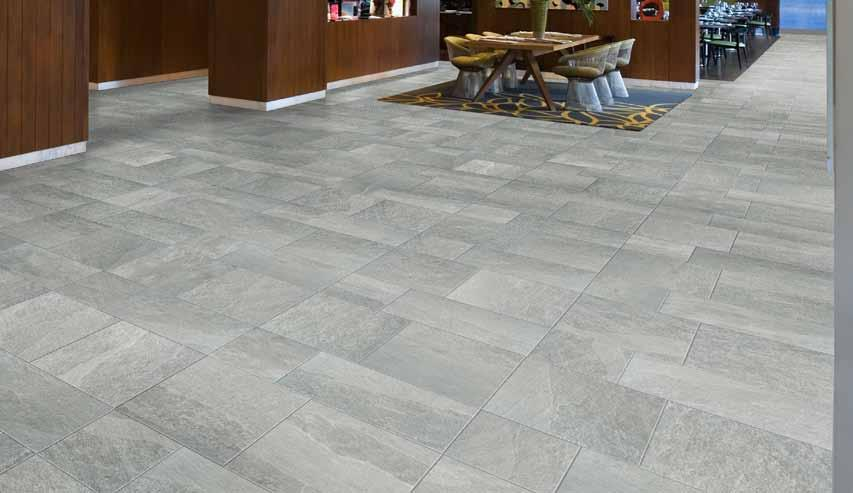Shown: 28217 12x12, 18x18, 12x24 Light Grotto Typical Uses C L I F F S I D E BY Cliffside HDP porcelain tile is ADA Compliant & is appropriate for all residential and commercial wall & countertop