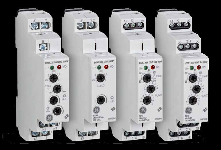 GE Indusrial oluions Time Relays and