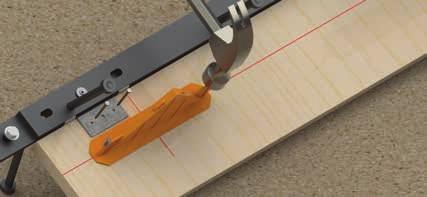 The ArmourMate length has a 60 mm lap join at either end. This is used to bolt the separate lengths together.