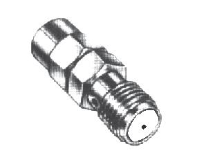 SMC (OSMC) - The SMC (Sub-Miniature C) is a 50 or 75 connector that is