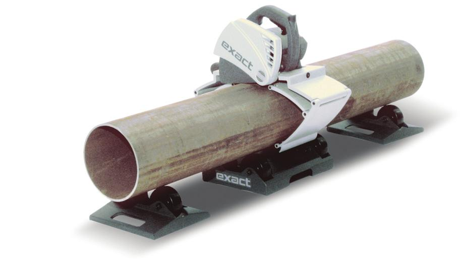 "6"" to 11"") PipeCut 360 (This product is not available in Canada) $2,512 List Price The largest single-speed universal pipe saw in the Eact line."