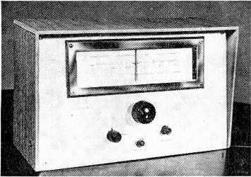 , 10, 15 and 20 metres. The prototype preselector is used primarily in c.w. connections; it is attractive physically and may be powered from the station receiver.
