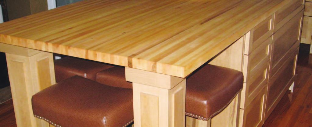 BUTCHER BLOCKS Available in lengths up to 90 x 46 wide x 1 1/4 thick BOS BROTHERS INC. WAS FOUNDED IN 2002. OUR MANUFACTURING PLANT IS LOCATED IN THE COMMUNITY OF MONTEAGLE, NB, CANADA.