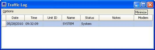 OPERATION Main Window: File Menu: Here the user can print and import subscriber and other databases. Window Menu: Enables the user to change which windows are displayed on the screen.