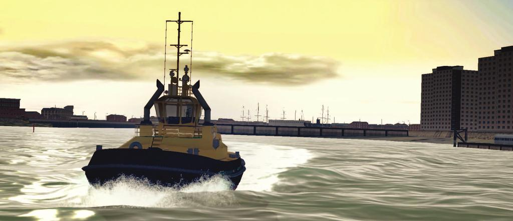Training Goals Transas ASD tug simulator has been designed by tug masters and for tug masters to provide high fidelity and cost-effective training in