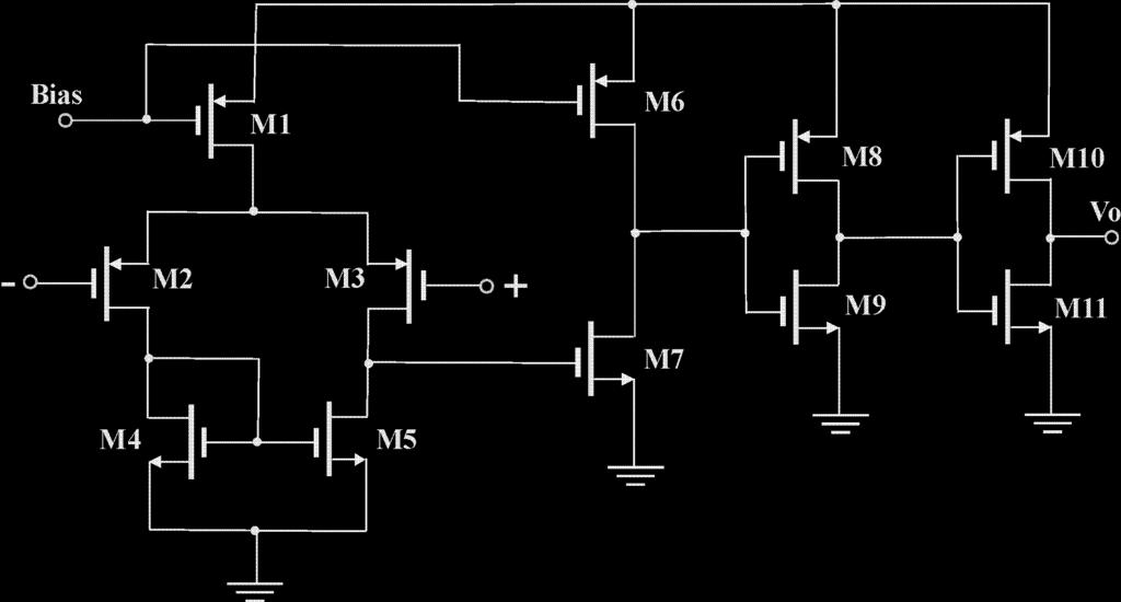 pair) Source s or Drain s effective load (transistor connected as diode or current mirror load) MOS-Transistor with gate short-circuited to drain MOS Current mirror or single MOS as voltage