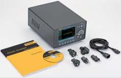 Ordering Information Fluke Norma 4000 Basic Configuration Fluke Norma 5000 Basic Configuration Fluke Norma 4000 High Precision Power Analyzer Basic configuration includes: Power supply cable 5.
