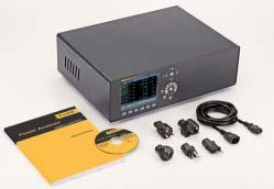 point is : Test certificate with measurement values Fluke Norma 5000 High Precision Power Analyzer Basic configuration includes: Power supply cable 5.