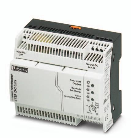 Uninterruptible power supply Data sheet 105623_en_00 PHOENIX CTACT 2013-06-07 1 Description Uninterruptible power supply units continue to deliver power even in the event of mains breakdowns or