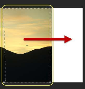 Extend Mode The Content-Aware move tool Extend mode, will allow you to extend a portion of your image, such as landscapes on a parallel plane, hair, buildings, etc.