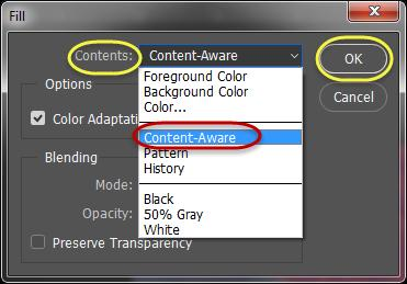 Tip: It may be easier to a Rectangular marquee to make the selection, and then change to the Content-Aware Move Tool.