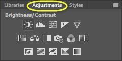 We want to be able to adjust our image on a separate layer, which we are able to adjust later, or even remove if we do not want the changes to be added to your image.