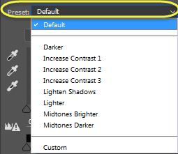 When a levels adjustment is added, you will see a new levels layer added to your image as well as the Levels Properties panel that will open.