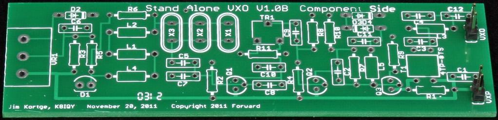 Thank you for purchasing a 4 State QRP Group Stand Alone VXO (SAVXO) kit. We hope you enjoy building it and using it to drive a transmitter, such as the NS-40, or a rig of your own design.