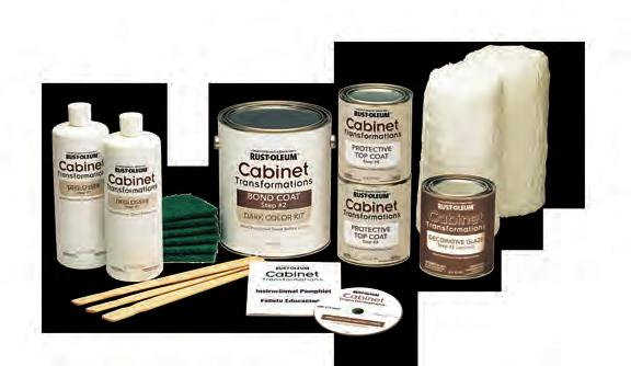 coating system. Create the look of hand-crafted cabinets.