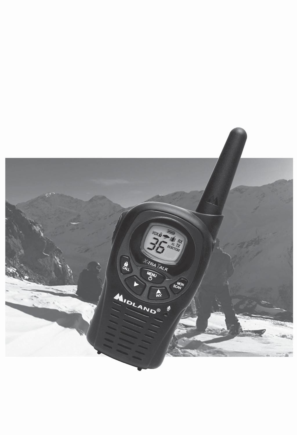 LXT480 Series GMRS/FRS Radio