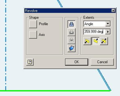 Section 2: Truncating the Regular Cone Click-select the XY Plane from the Model panel (or on the screen); click the Sketch button from the Command Bar; start to draw an angled truncating line and