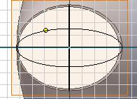 2-4H: Draw the new elliptical outline.