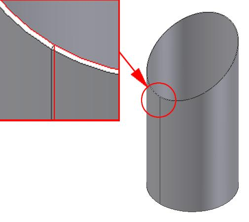 Inventor (10) Module 1G: 1G- 1 Module 1G: Creating a Circle-Based Cylindrical Sheet-metal Lateral Piece with an Overlaying Lateral Edge Seam And Dove-Tail Seams on the Top Edge In Module 1A, we have