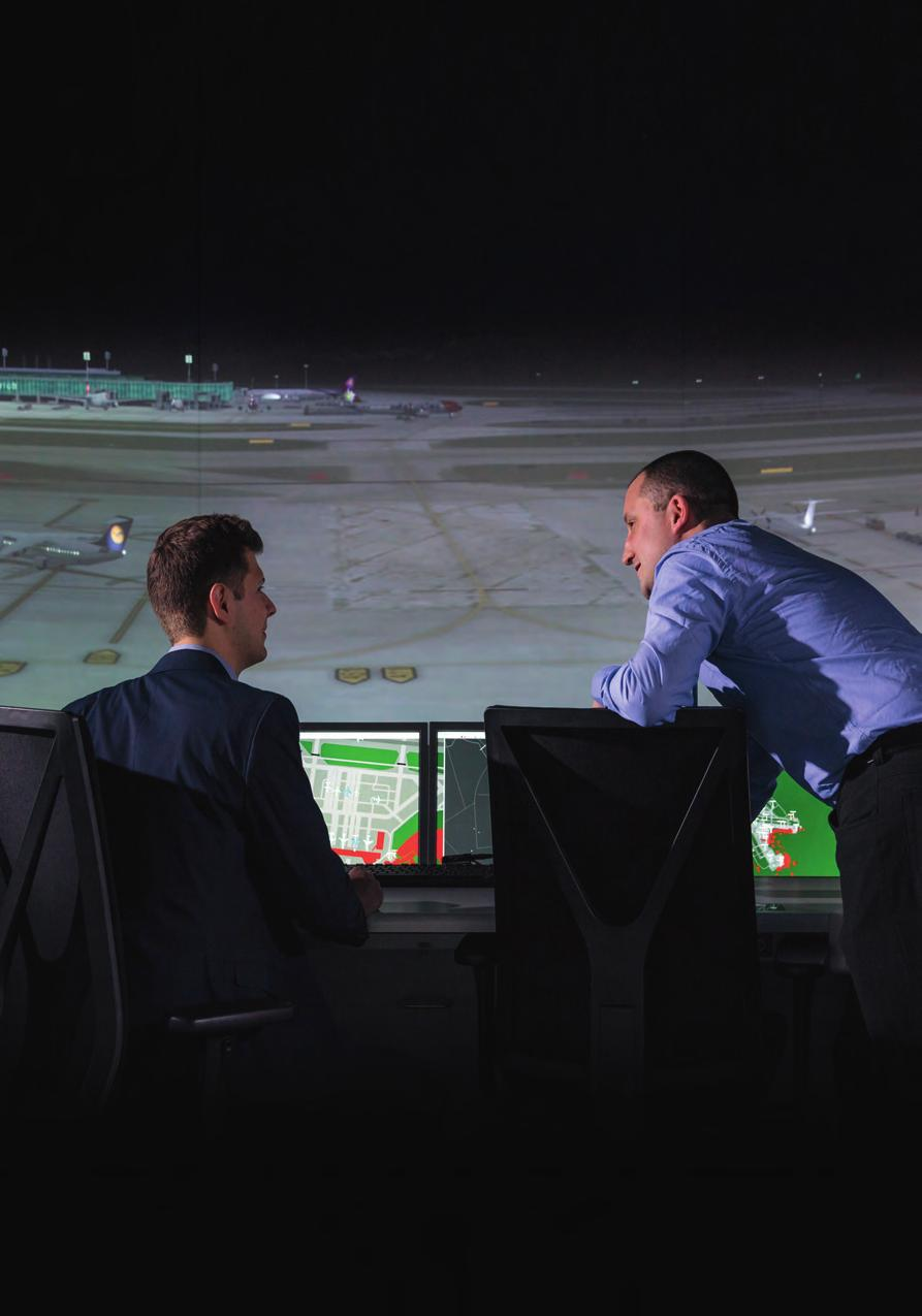 Air navigation services is a highly specialised