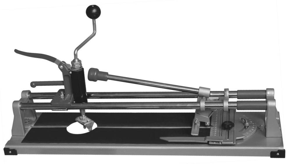 3 IN 1 HEAVY DUTY TILE CUTTER Model 41711 ASSEMBLY Operating Instructions Visit our website at: http://www.harborfreight.com Read this material before using this product.