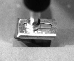 Making a Circle Cut. 1. 2. 3. 4. 5. 6. Assemble the circle cutter assembly onto the tool as previously discussed.