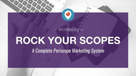 If You Made it Through All 5 Days, You're Ready to Take it To the Next Level I WANT TO SHARE MY COMPLETE PERISCOPE SYSTEM WITH YOU! WHY? That s easy, because I m looking to create a movement.