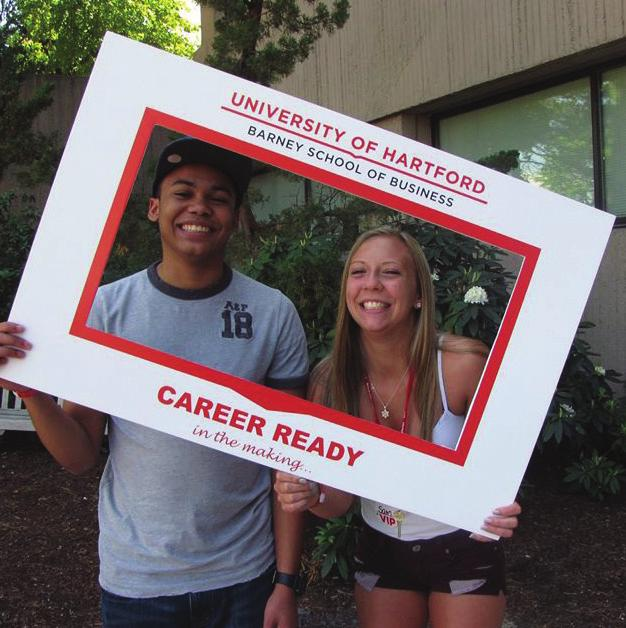 Students will spend two weeks taking a business course, living on campus, meeting alumni and fostering friendships.