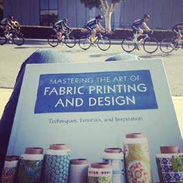 - The Art and Business of Surface Pattern Design E-Course - Mastering the Art of Fabric Printing and Design - Print & Pattern - A Field Guide to Fabric Design Once you're familiar with working in