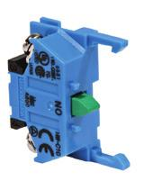 ømm - TW Series Transformer/ Adaptor* *Not applicable for full voltage units perators Illuminated Pushbuttons (Sub-Assembled) + Contacts + Lamp Holder + perator + Lamp + Lens = Complete Part