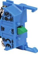 ømm - TW Series Illuminated Selector Switches (Sub-Assembled) Transformer* + Contact Block + perator + Lamp/Lead Holder + Lamp + Lens = Complete Part *Full voltage units use a full
