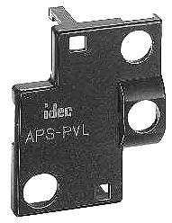 HW9Z-KL TW to TWTD Adaptor Used to mount TW series control unit (except square units) Ø 7/8 (mm) into a Ø -/6 (mm) panel cut-out.