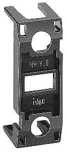 Fingersafe terminal cover, adds mm to overall depth APW and UPQW transformer pilot lights, and illuminated pushbuttons and