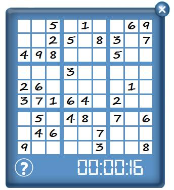 digit once and only once. To begin the game, each player selects the Start a new grid tab.
