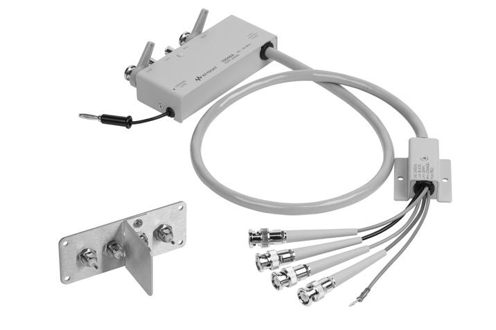 17 Keysight Accessories Catalog for Impedance Measurements - Catalog Up to 120 MHz (4-Terminal Pair): Port/Cable Extension 16048A Test leads Terminal connector: 4-Terminal Pair, BNC Cable length