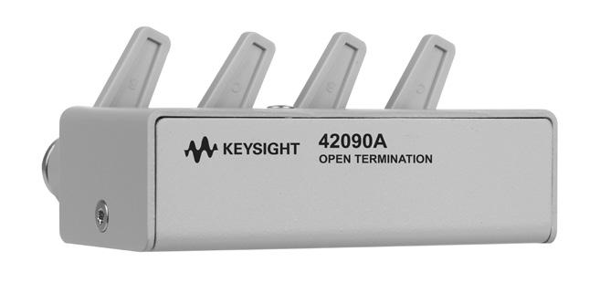 56 Keysight Accessories Catalog for Impedance Measurements - Catalog Other Accessories continued 42090A Open termination Description: The 42090A is an open termination and is primarily used for