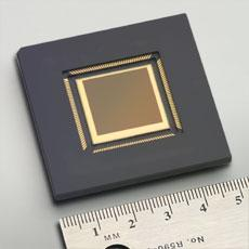 CMOS Same sensor elements as CCD Each photo sensor has its own amplifier More