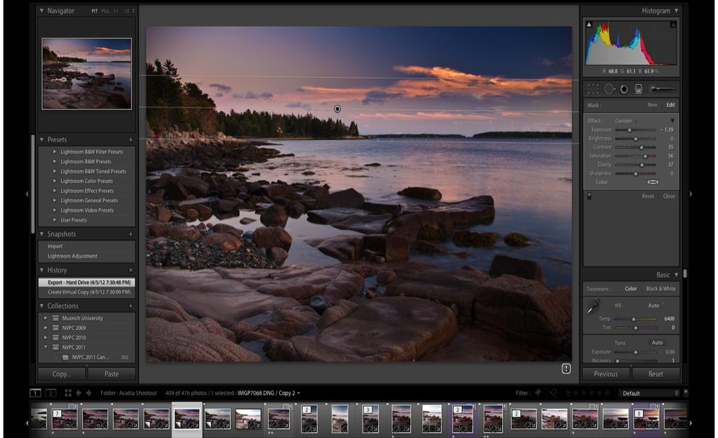 LIGHTROOM SCREEN