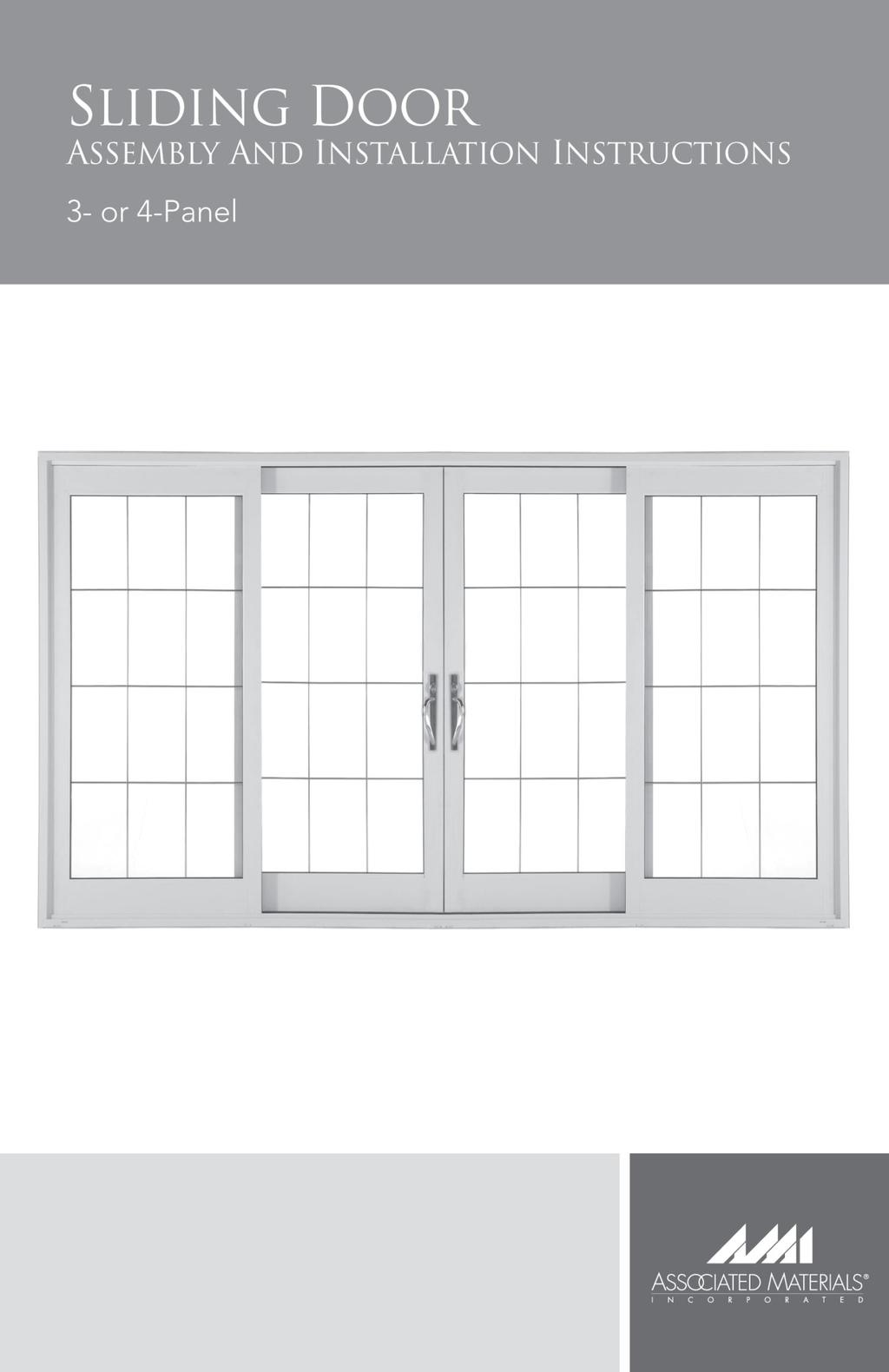 Contemporary 3 Panel Classic 5 Panel French Panel 6400, 8400 and 9400 Series Sliding Patio Door (O) Fixed Panel Left (X) Operating / Mullion Panel Right (X) Operating / Lock Panel Left (O)