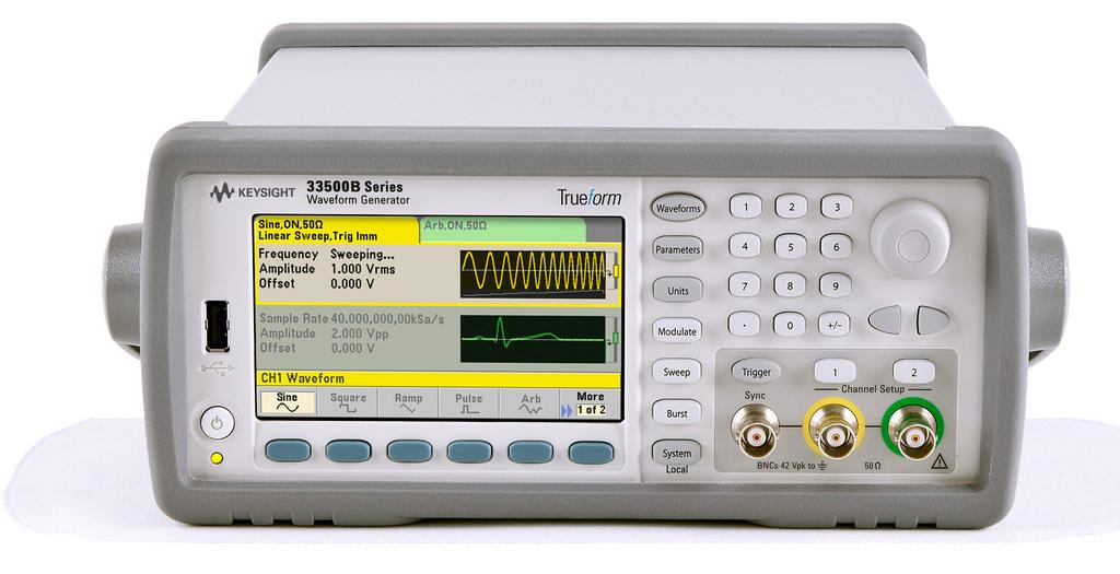 All models come with a rich set of built-in, standard features, including LAN, USB and GPIB interfaces, 1 MSample of memory, an external timebase input, and basic waveform generation