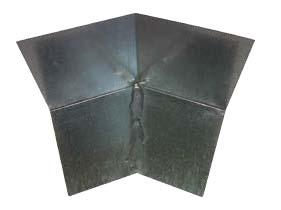 "3 that requires a 4"" vertical Kickout Diverter Sidewall Flashing Diverts roof drainage away"