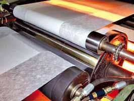 gravure printing / flexo printing. Working widths: 600 mm to 1.200 mm Speed (mech.