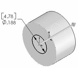 The Through All End Condition removes material from the The Extruded Cut feature is named Front Plane