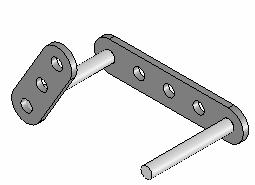 Insert a Concentric Mate Insert a Coincident Mate. Insert the second AXLE part.