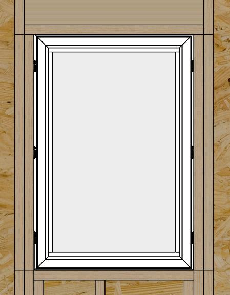 Once the unit is square and plumb in the opening, operate the sash (on operable units) to make sure it is operating properly. If not, you may have to make some adjustments to the shims.