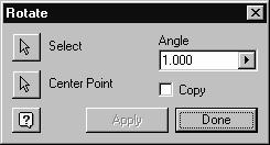 Sketch Tools 5. Press Apply and Done. The arc is now copied to the new position. You may see an error dialog asking if you should remove some constraints. Press Yes. 6. Save the file as ex6-3.ipt.