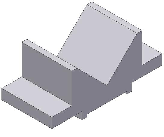 2-34 Autodesk Inventor for Designers Figure 2-62 Model for Tutorial 1 Figure 2-63 Sketch of the model The following steps are required to complete this tutorial: a.